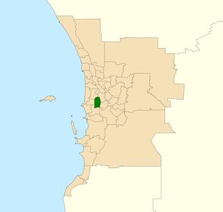 Electoral district of Bateman State electoral district of Western Australia