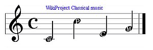 For Wikipedia:WikiProject Classical music