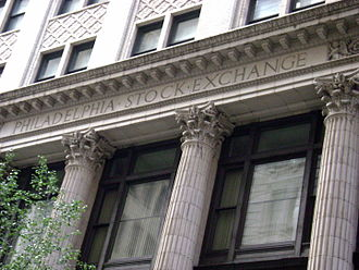 Philadelphia Stock Exchange, the oldest stock exchange in the United States WTP D05 AMP 2.jpg