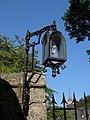 Waidhofen an der Ybbs - Rothschildschloss - geschmiedete Lampe.jpg