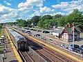 Waldwick, NJ, train station from pedestrian bridge.jpg