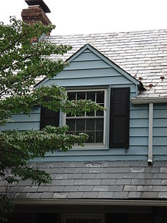 Wall dormer dormer which aligns with the wall plane