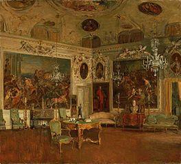 Interior of Palazzo Barbaro, Venice