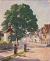 Walter Heubach Straße in Aichach mit Kapelle.jpg