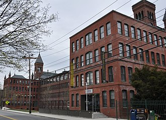 National Register of Historic Places listings in Waltham, Massachusetts - Image: Waltham MA American Waltham Watch Company
