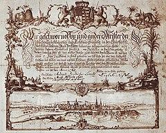 Wanderbrief des Kürschnergesellen Ehrenfried Pentzsch,Dresden 1756.jpg