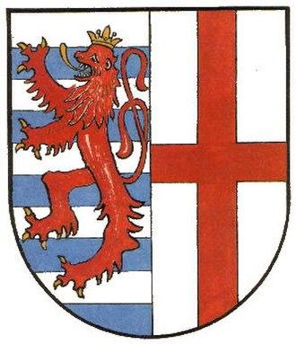 Pronsfeld - Image: Wappen pronsfeld
