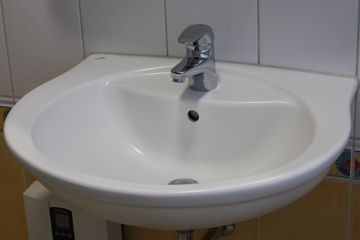 Wastafel wikipedia - Toilet wastafel ...