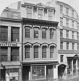 Pi Alley (Boston) - Image: Washington St Pi Alley Boston 2351556878 detail 1