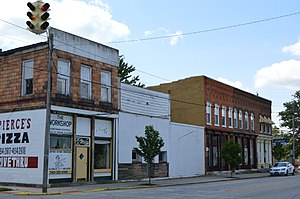 Prospect, Ohio - Water Street downtown
