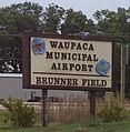 WaupacaMunicipalAirportSign.jpg
