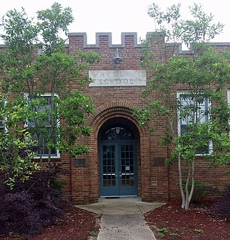 National Register of Historic Places listings in Hancock County, Mississippi - Image: Waveland Elementary School, Waveland, MS