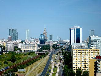 Warsaw Cross-City Line - Image: Wawa srodmiescie poludniowe