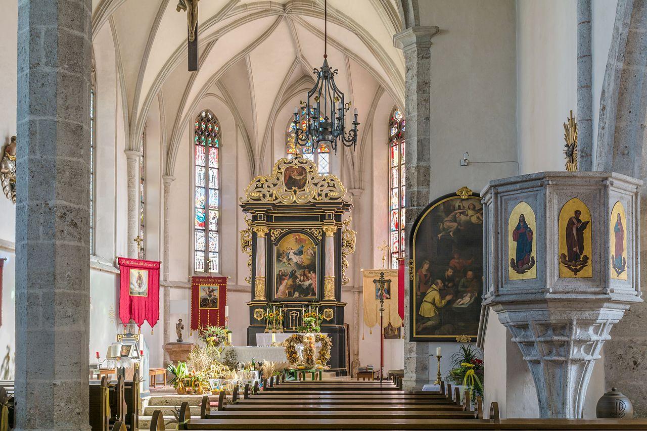 Adventmarkt Weikirchen an der Traun - Goldhaubengruppe