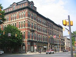 The Weightman Block on West Fourth Street