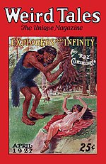 Weird Tales cover image for April 1927
