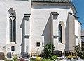 Weitensfeld Zammelsberg Pfarrkirche hl Georg Chor und Apsis S-Ansicht 19072017 0206.jpg