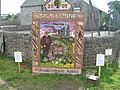 Well Dressing, Monyash - geograph.org.uk - 1099182.jpg