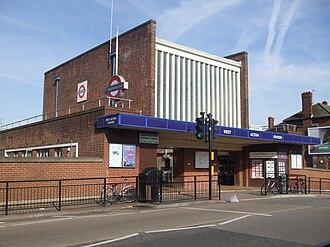 West Acton tube station - Image: West Acton stn building