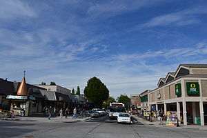 West University, Eugene, Oregon - 13th Avenue as seen from Kincaid Street