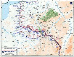 Sytuacja na froncie zachodnim w 1914