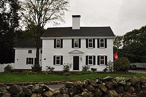 Samuel Train House - Image: Weston MA Samuel Train House
