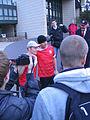 Wetten, dass - Markus Lanz läuft am 14. Oktober 2012 im Fortuna-Trikot von Düsseldorf nach Köln 3.jpg