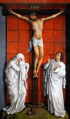 Weyden Christ on the Cross with Mary and St John.jpg