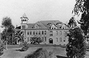 Whittier College - Whittier College in 1912