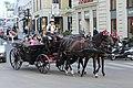 Wien-Innenstadt, Fiaker auf der Straße Heidenschuss.JPG