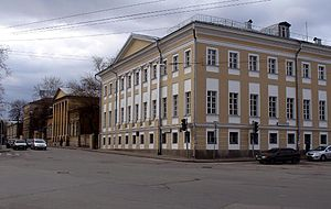 German Quarter - Lefortovskaya Square, post-1812 buildings