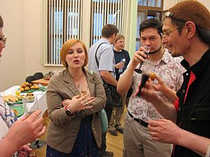 Wiki Party in Moscow 2013-05-18 (Wikipedians; 22).JPG