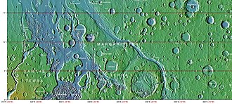 Ares Vallis - Image: Wikichaosmap