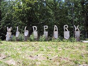 Bad Mergentheim Wildlife Park - Park entrance