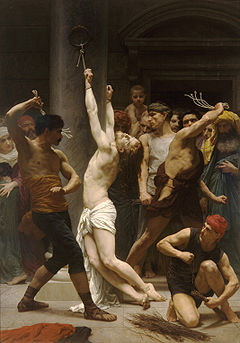William-Adolphe Bouguereau (1825-1905) - The Flagellation of Our Lord Jesus Christ (1880)