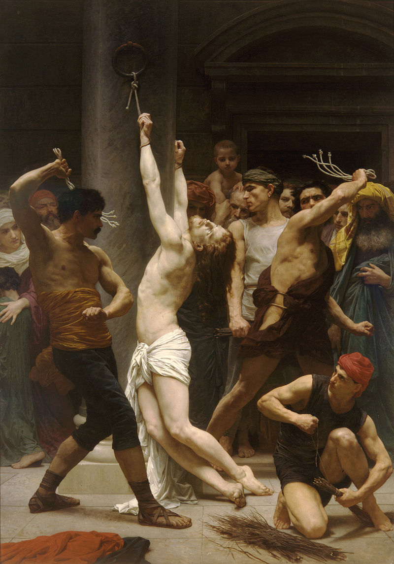 https://upload.wikimedia.org/wikipedia/commons/thumb/5/56/William-Adolphe_Bouguereau_%281825-1905%29_-_The_Flagellation_of_Our_Lord_Jesus_Christ_%281880%29.jpg/800px-William-Adolphe_Bouguereau_%281825-1905%29_-_The_Flagellation_of_Our_Lord_Jesus_Christ_%281880%29.jpg