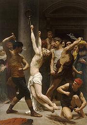 Η Φραγγέλωση του Κυρίου μας Ιησού Χριστού, του William-Adolphe Bouguereau (1880).