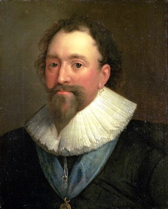 William Herbert, 3rd Earl of Pembroke - William Herbert, by Daniel Mytens, oil on canvas, 1625