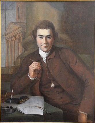 William Buckland (architect) - Charles Willson Peale portrait of William Buckland