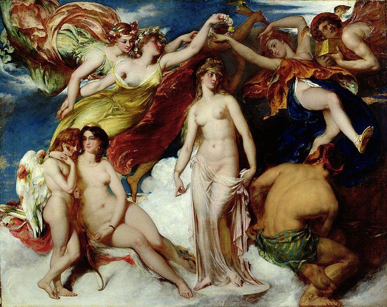 File:William Etty - Pandora Crowned by the Seasons, 1824.jpg
