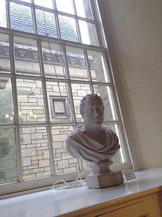 William Robertson (historian) - A bust of William Robertson, which sits in the 17th-century King James Library at the University of St Andrews