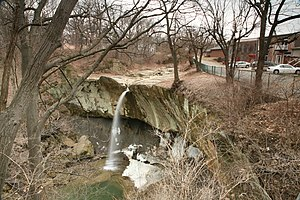 Williamsport, Indiana - Image: Williamsport Falls 2