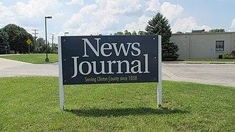 News Journal (Ohio) - Image: Wilmington News Journal 2