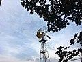 Wind turbine in Deliblato. Vetrenjača, turbina u Deliblatu.jpg
