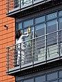 Window cleaning block of flats Tottenham, London, England 3.jpg