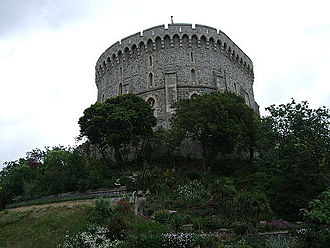 Shell keep - Image: Windsor Castle Round Tower