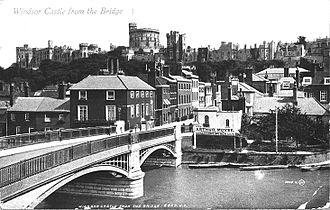 Windsor Bridge - Windsor Bridge in 1866.