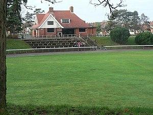Winton, Dorset - Winton Rec pavilion.