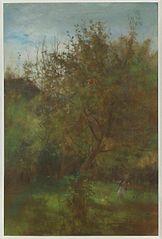 Sad - Chłopiec pod jabłonią