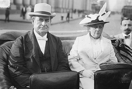 William Jennings Bryan and wife Mary in New York City, June 19, 1915 WmJBryan+wife.jpg
